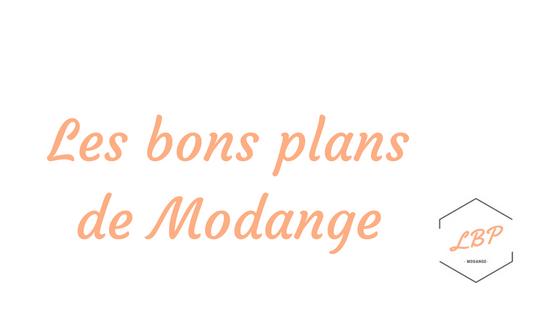 Les bons plans de Modange