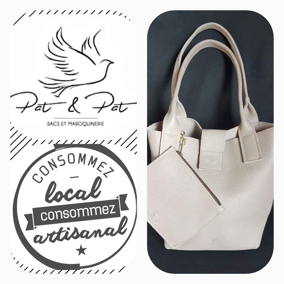 sacs- creations - fait main - made in france - pat &pat