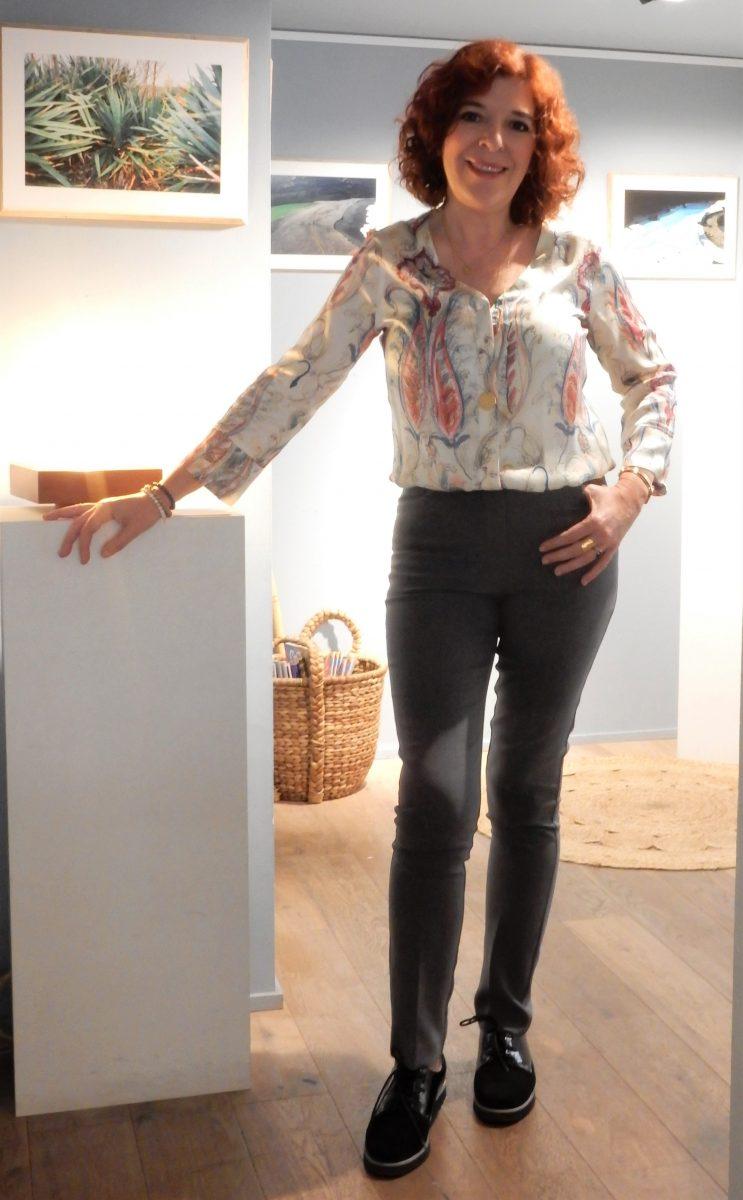 Peter hahn - ambassadrice- Mode - femme - quinqua - chic - allemande- mode - bordeaux