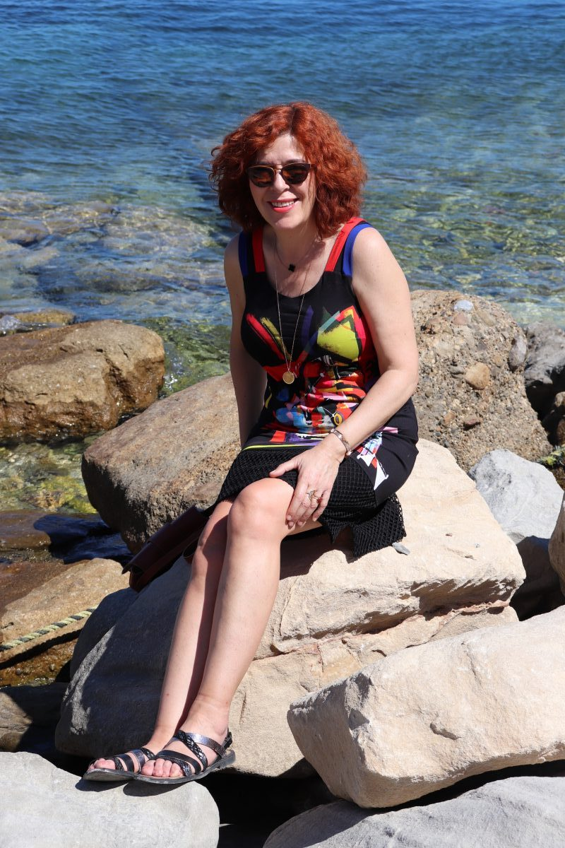 Bleu d'Azur - mode - femme - robe - made in france - été - prêt à porter