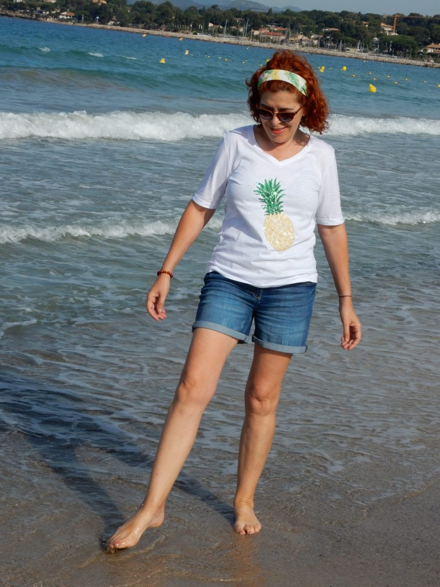 été - mode- Laura Kent - femme - beauté - routine - soleil - parapharmacie- stade vélodrome