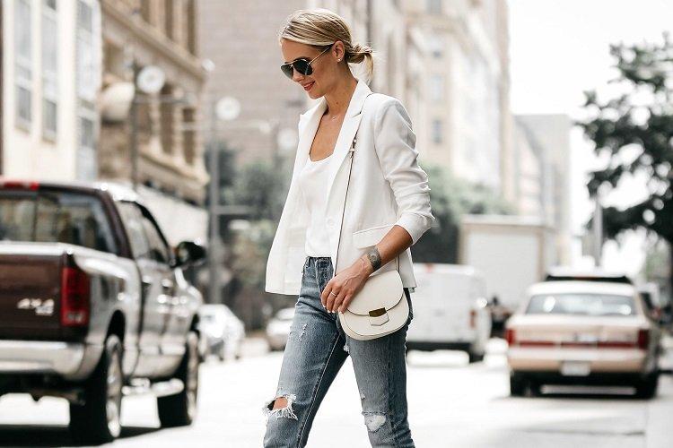 Comment porter le blazer blanc